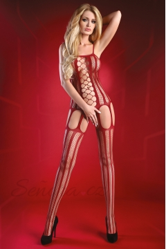 Bodystocking Almas maroon